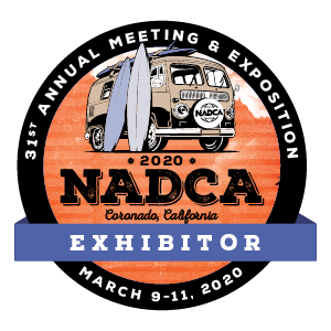 NADCA 30th Annual Meeting Exhibitor Badge