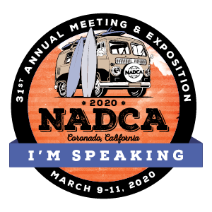 NADCA 30th Annual Meeting Speaker Badge